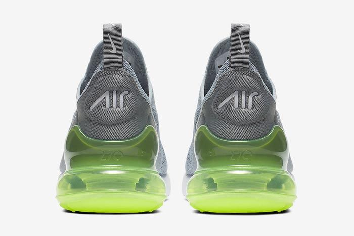 Nike Air Max 270 Womens Lime Blast Heels