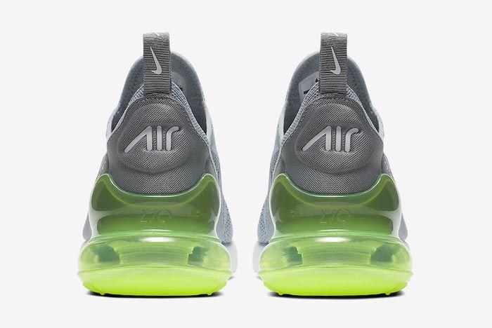 Nike Air Max 270 Womens Lime Blast Heels