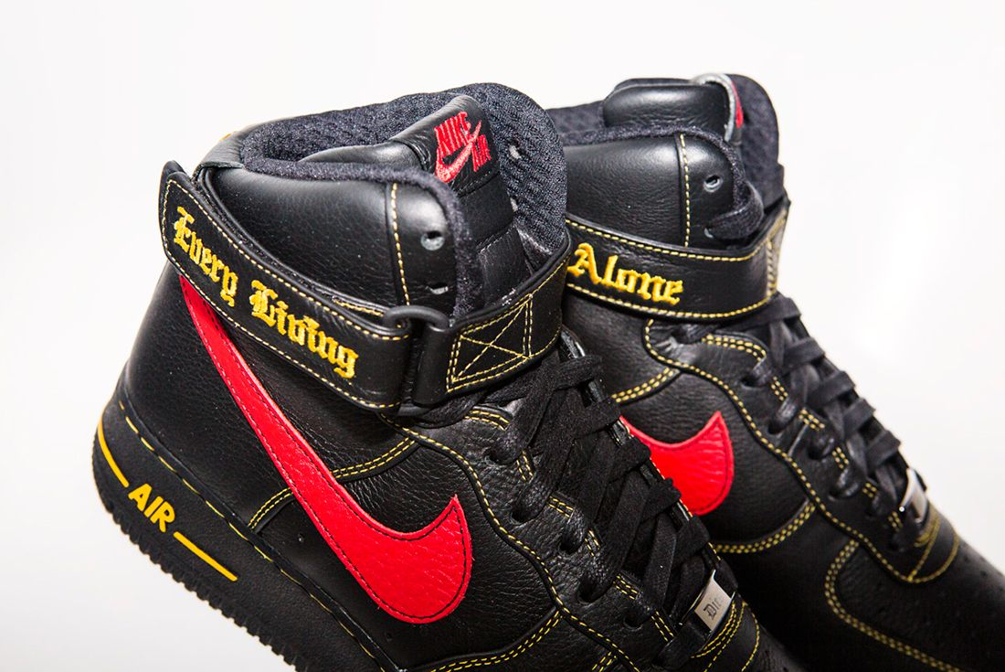 Vlone X Nike Air Force 1 4