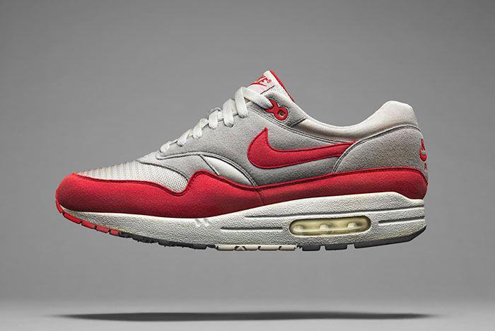 Nike Air Max 1 Og Red Side Shot