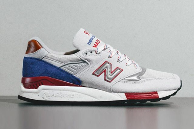 New Balance 998 Bt Grey Red Blue 7