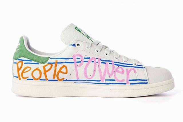Pharrell Williams Hand Painted Adidas Originals Stan Smith 7