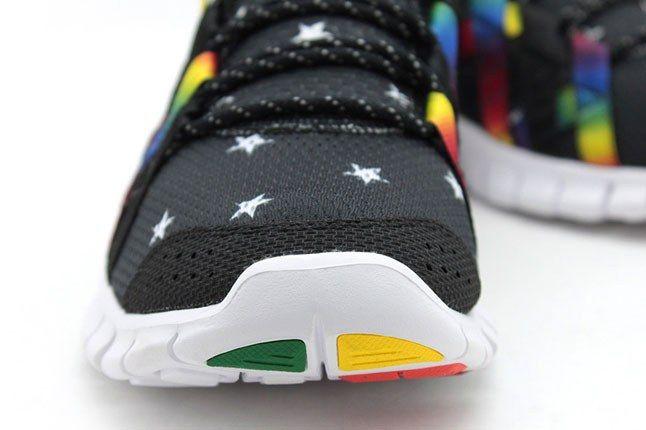 Rainbow Nikes 1
