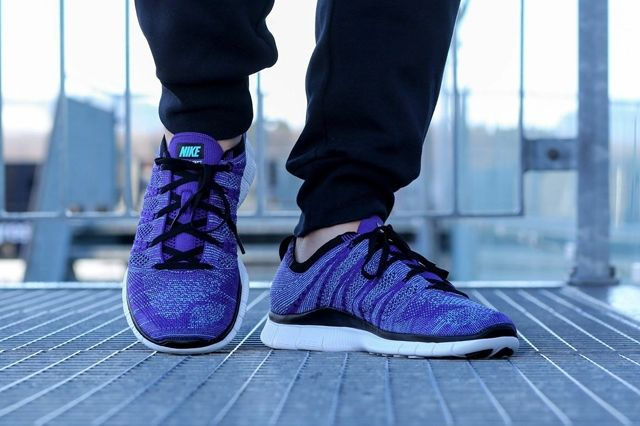 Nike Free Flyknit Nsw Court Purple 3