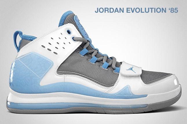 Jordan Evolution 85 University Blue 1