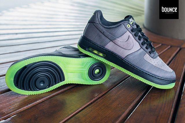 Nike Air Force 1 Vt Jacquard Grey Volt 7