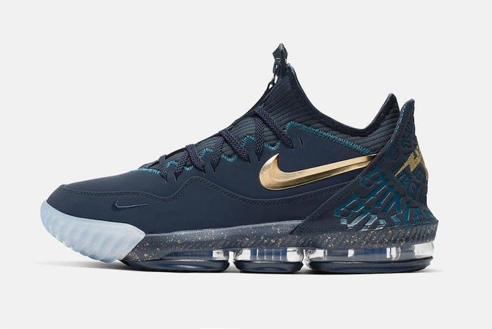 Titan Nike Le Bron 16 Low Agimat Cj9919 400 Release Date Side