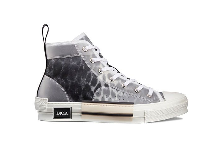 Dior B23 High Top Leopard Print Sneaker 1 Side1