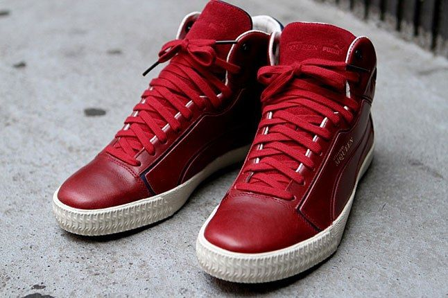 Puma Mcqueen Red Suede Sneaker 1