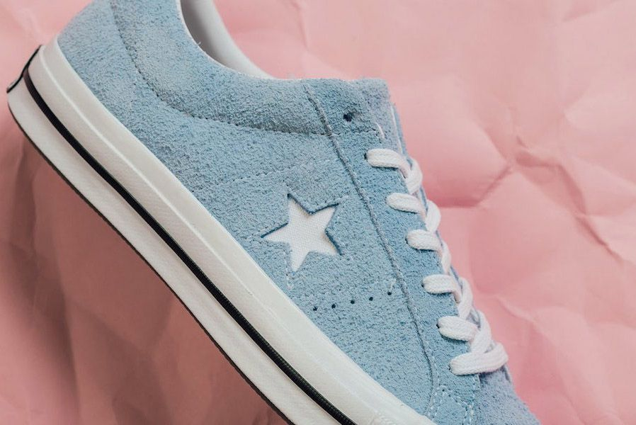 Converse One Star Low Cotton Candy Pack Blue