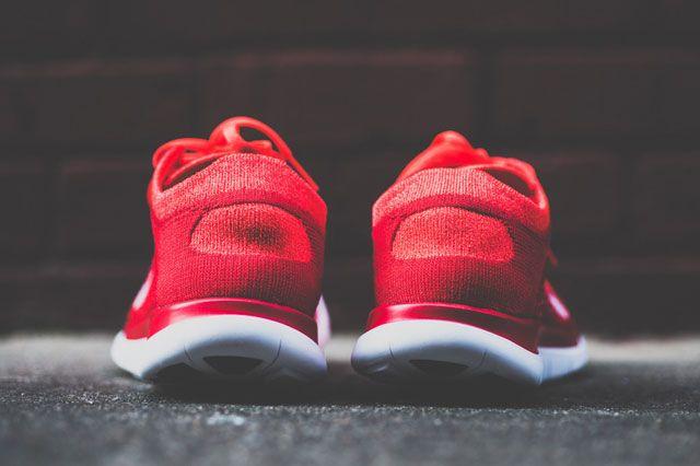 Flyknit Free 4 0 Crimson Heel2