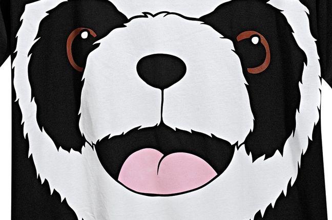 Adidas Jeremy Scott Big Panda T Shirt 1 1
