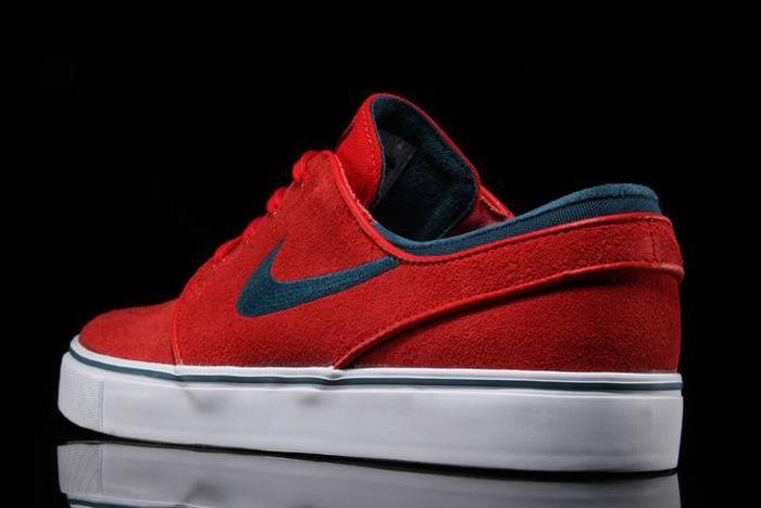 Nike Sb Air Zoom Stefan Janoski University Red2
