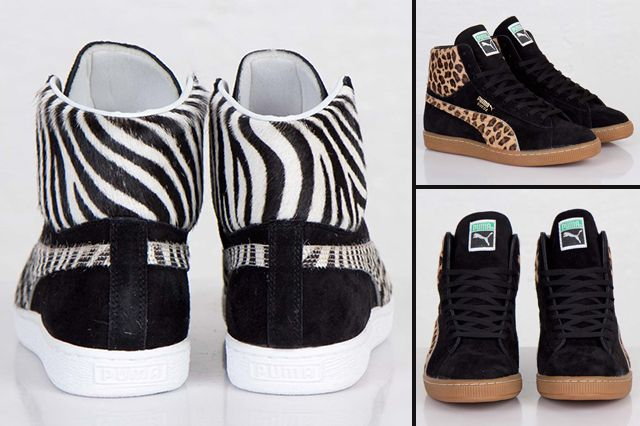 Puma Suede Mid Made In Japan Animal Pack