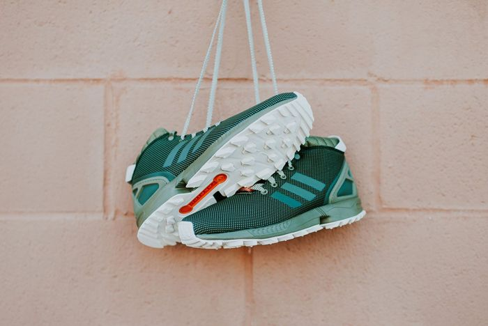 Adidas Zx Flux 58 Tr Green 2