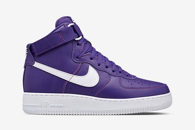 Nike Air Force 1 High Purple6