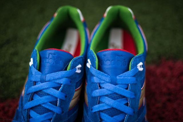 Packer Shoes Diadora N9000 Azzurri 3