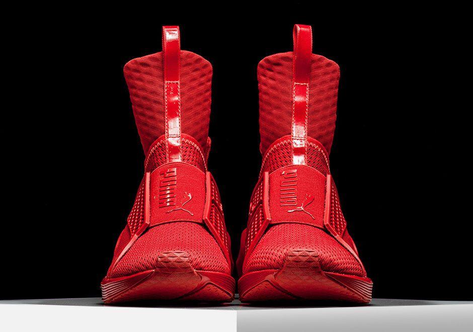 Rihanna Puma Fenty Trainer Red Alert 4