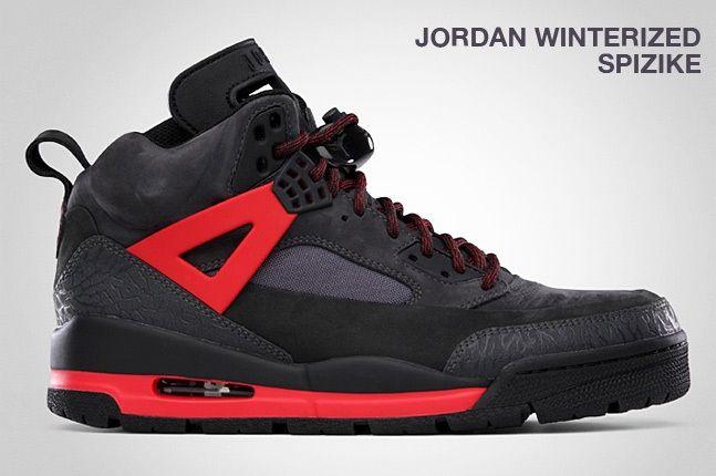 Jordan Winterized Spizike Black 1