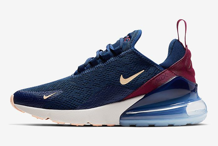 Nike Air Max 270 Wmns Blue Void Ah6789 402 1