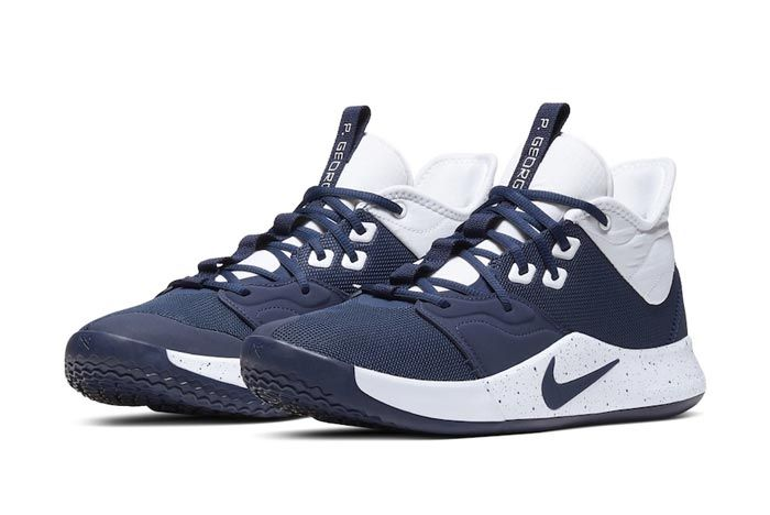 Nike Pg 3 Team Bank Navy Pair