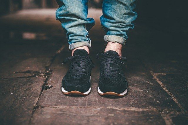 Saucony Irish Coffee Pack On Foot 640X4271