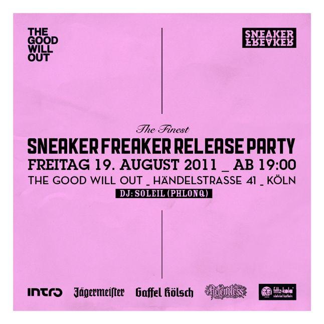 Sneaker Freaker Germany Cologne 1