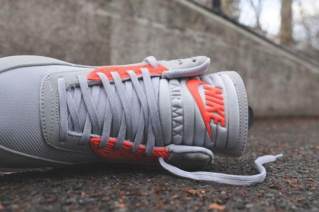 Nike Air Max 90 Sneakerboot Ice Infrared Bump 6