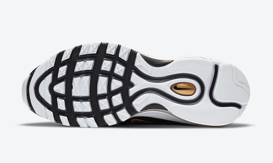 Nike Air Max 97 Black and Gold Sole