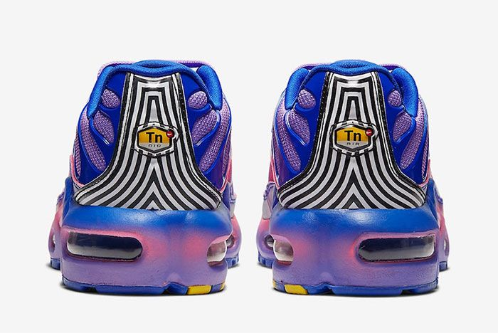 Nike Air Max Plus Gradient Purple Heel