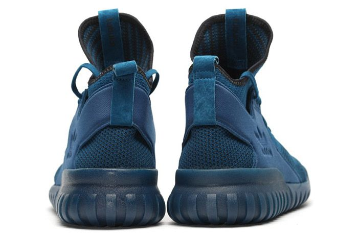 Adidas Tubular X Primeknit Tech Steel Blue 2