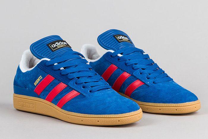 Adidas Busenitz Shoes Eqt Blue Scarlet Running White 2