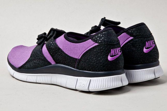 Nike Free Sockracer Pur Heels 1
