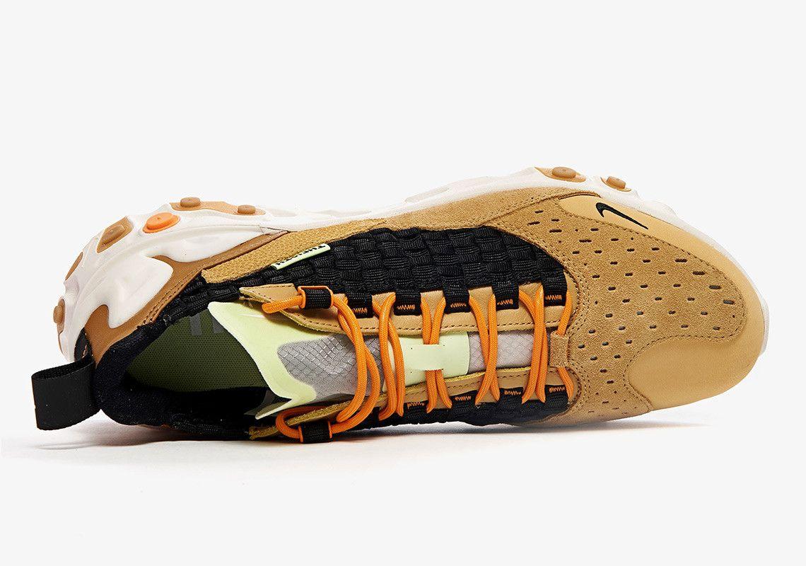 Nike React Sertu At5301 700 Club Gold Black Wheat Bright Ceramic 4 Top
