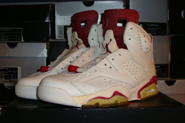 Rebecca Dahms Wmns Basketball Collection Air Jordan 6 Maroon Og 1