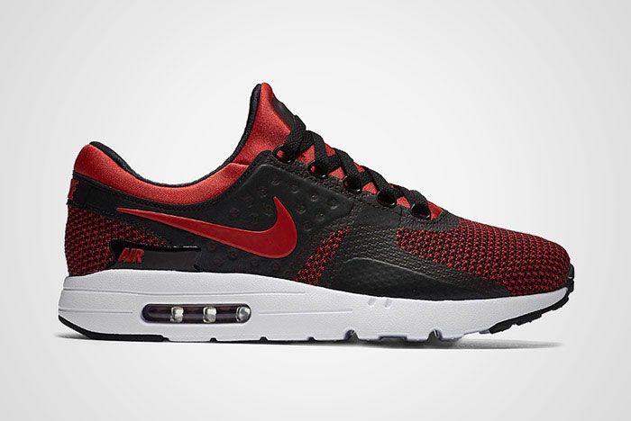 Nike Air Max Zero Bred Black Red Thumb