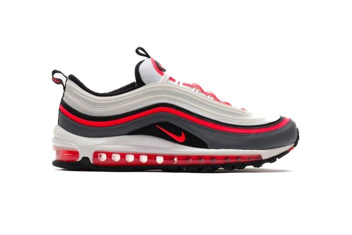 Nike Air Max 97 Laser Crimson Lateral