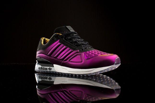 Adidas Originals T Zx Runner Amr Purple Profile 1
