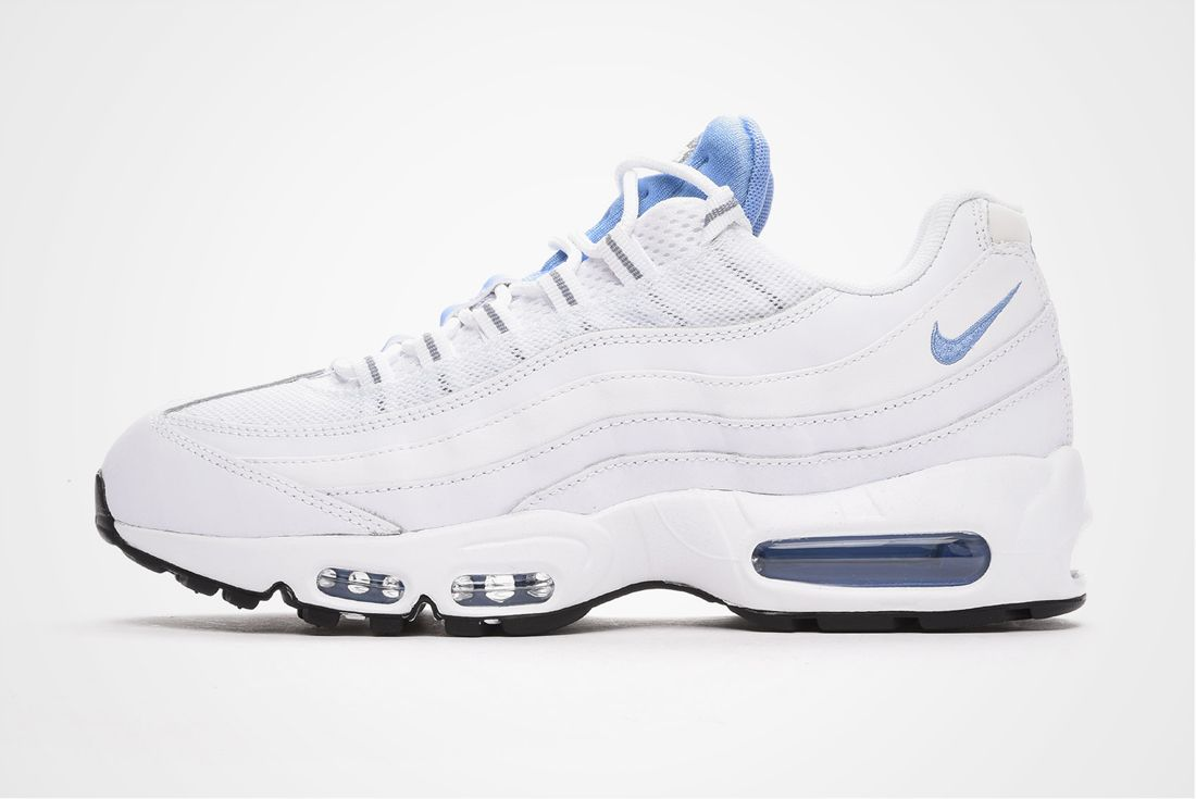 Nike Air Max 95 Essential White Chalk Blue Stealth 1