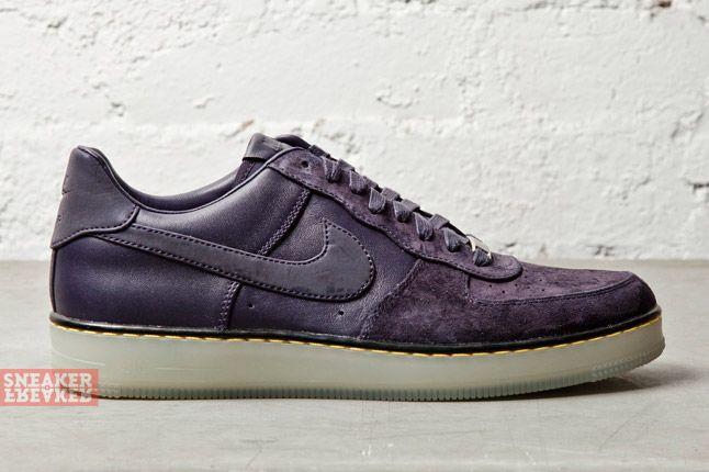Nike Af1 Downtown Dark Purple 1