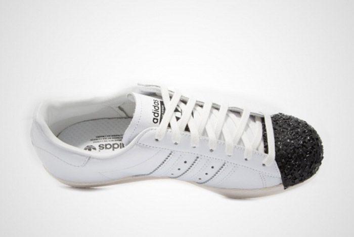 Adidas Superstar 80 S Metal Toe Tf Womens 8