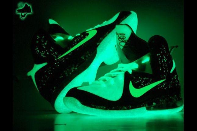 Nike Lebron 9 Brightest Galaxy Customs Gourmet Kickz 06 1