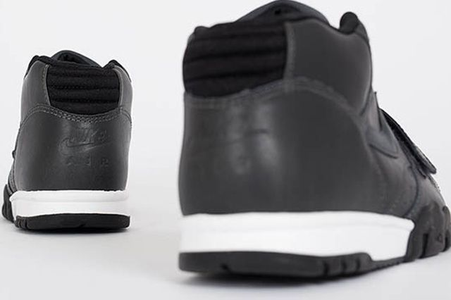 Nike Air Trainer 1 Mid Anthracite Black Leather 2