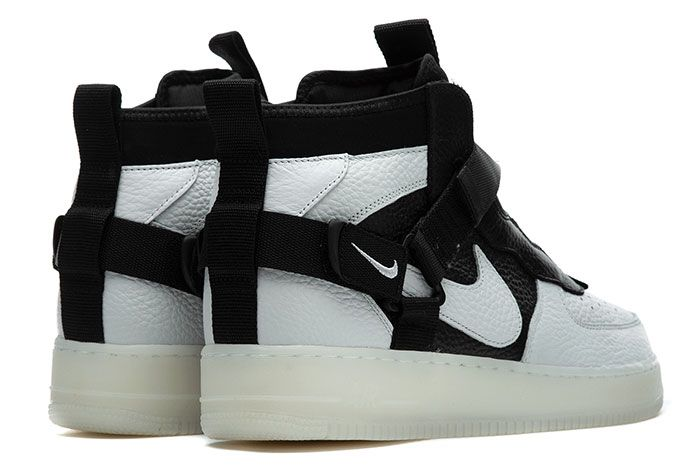 Nike Air Force 1 Utility Mid Orca Side1