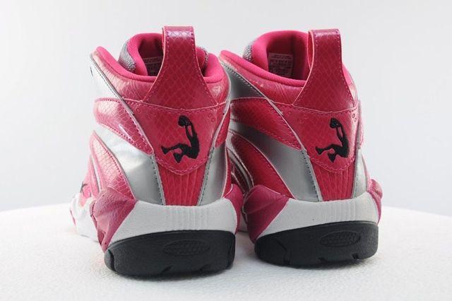 Reebok Shaqnosis Pink Silver 4