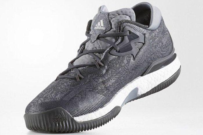 Adidas Crazylight Boost 2016 Grey Silver 1