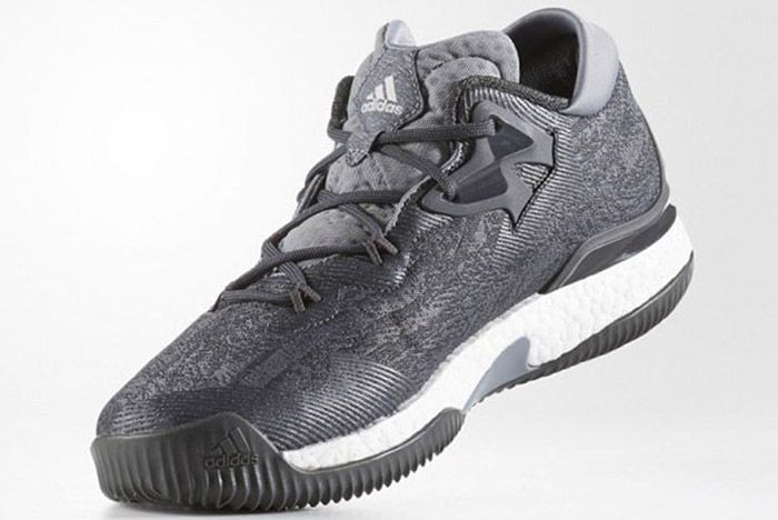 Adidas Crazylight Boost 2016 Grey Silver 1