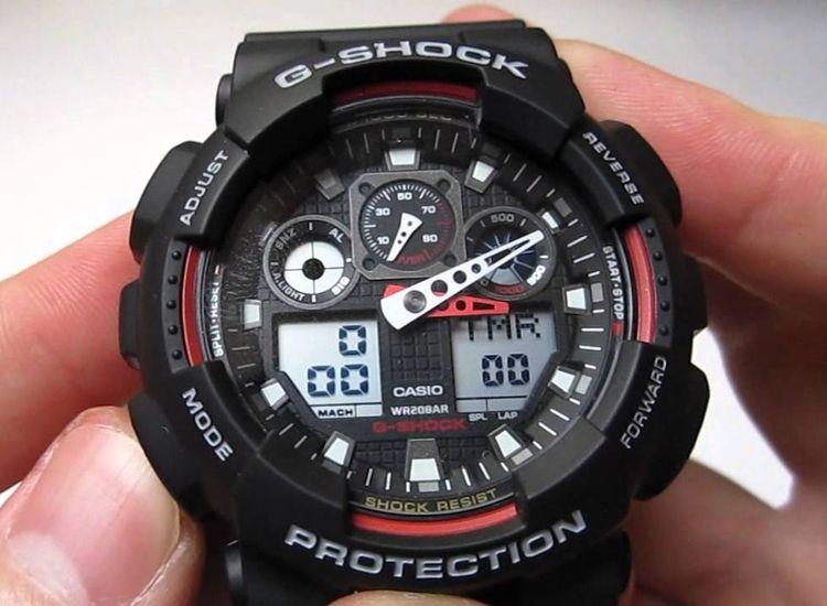 G Shock Ga100 1 A4