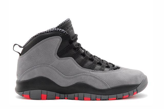 Air Jordan 10 Cool Grey Infrared 5