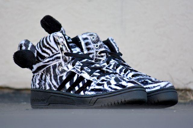 Adidas Originals Js Zebra Pair